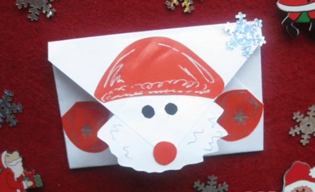 Конверт для письма Деду Морозу: надо верить в чудеса konvert dlya pisma Dedu Morozu 9