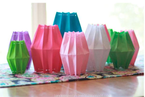 Поделки из цветной бумаги на Новый год novogodnie igrushki iz cvetnoj bumagi 6