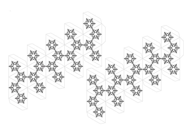 Поделки из цветной бумаги к Новому году novogodnie podelki iz cvetnoj bumagi 14