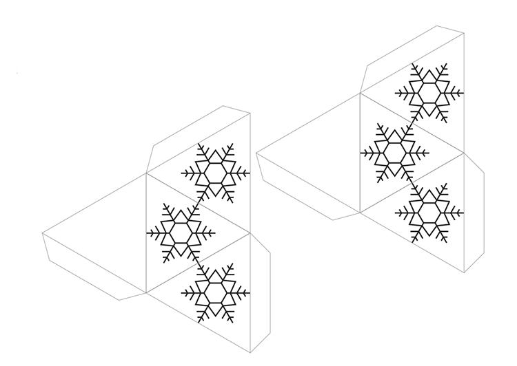 Поделки из цветной бумаги к Новому году novogodnie podelki iz cvetnoj bumagi 15