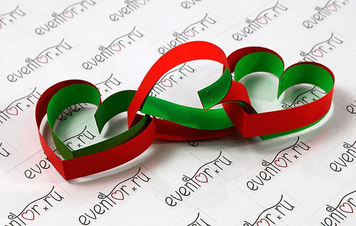 Объемная гирлянда из бумаги для украшения дома на Новый год obemnaya girlyanda iz bumagi 5
