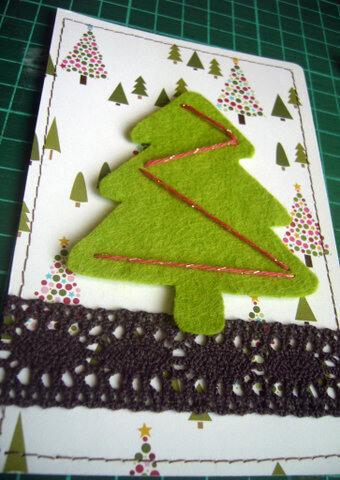 Заготовка для письма Деду Морозу   открытка из фетра otkrytka iz fetra 16