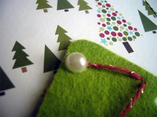 Заготовка для письма Деду Морозу   открытка из фетра otkrytka iz fetra 20
