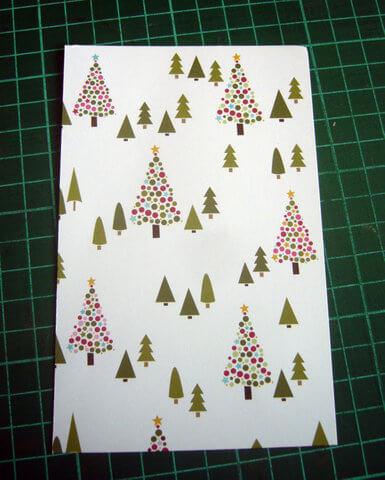 Заготовка для письма Деду Морозу   открытка из фетра otkrytka iz fetra 6