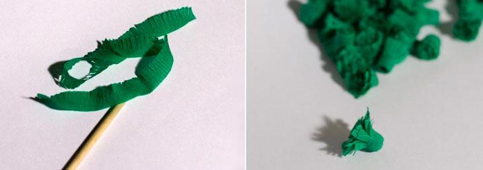 Новогодние поделки из гофрированной бумаги: украшаем дом своими руками podelki iz gofrirovannoj bumagi na novyj god 3