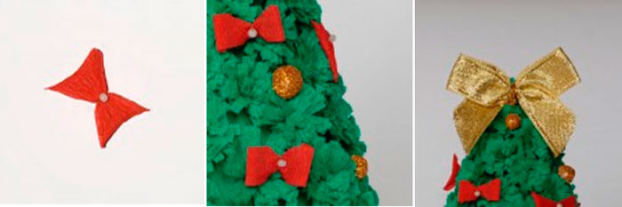 Новогодние поделки из гофрированной бумаги: украшаем дом своими руками podelki iz gofrirovannoj bumagi na novyj god 5