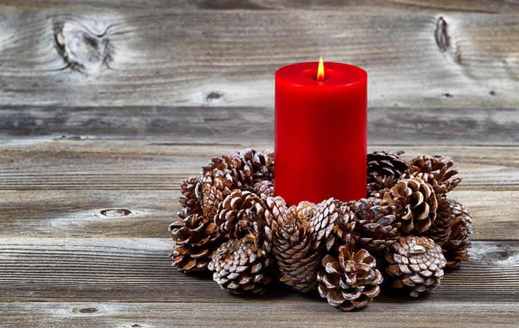 Подготовка к Новому году: поделки из шишек podelki iz shishek 37