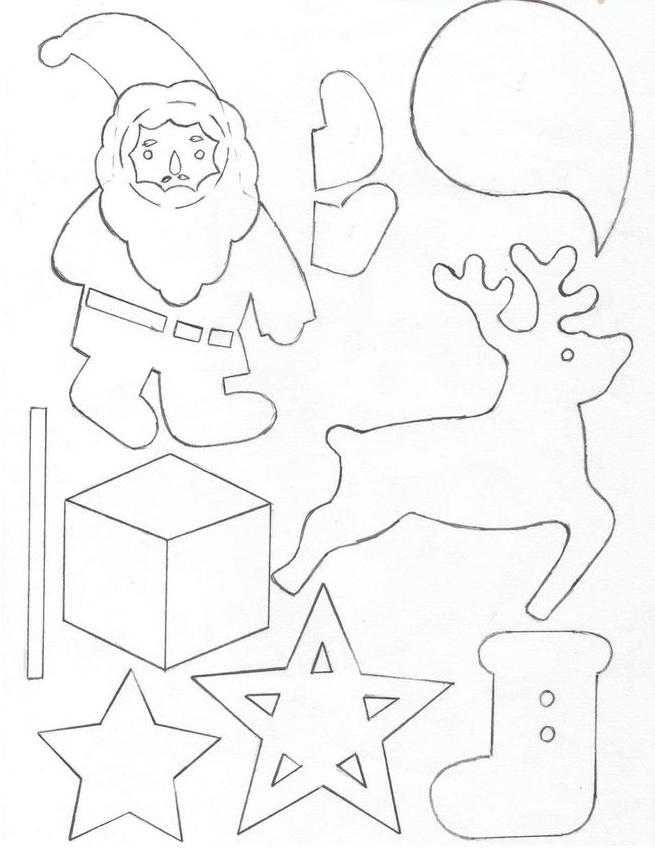 Делаем сапожок из фетра: волшебство для детей sapozhok 27