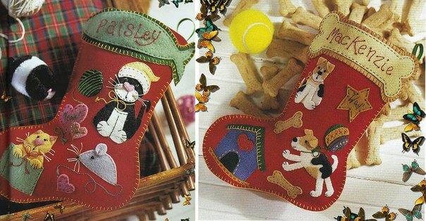 Делаем сапожок из фетра: волшебство для детей sapozhok 3