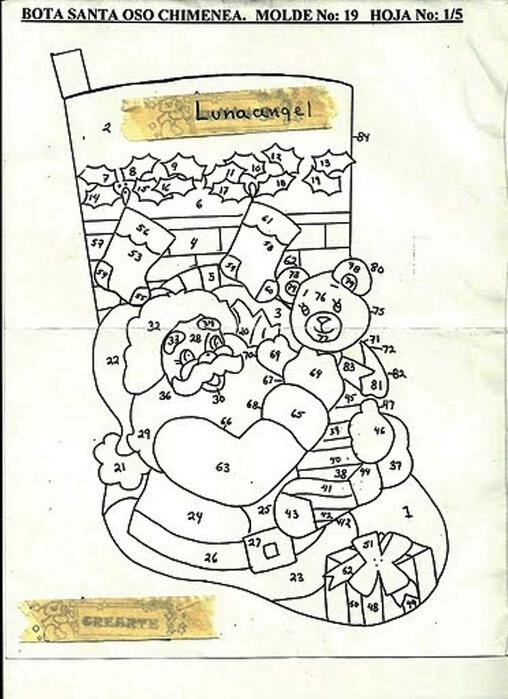 Делаем сапожок из фетра: волшебство для детей sapozhok 30