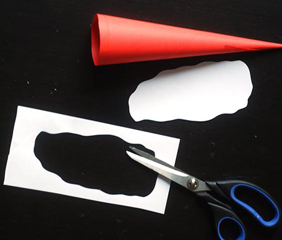 Дед мороз из бумаги: яркая аппликация для ребенка sdelat ded moroza iz bumagi 8