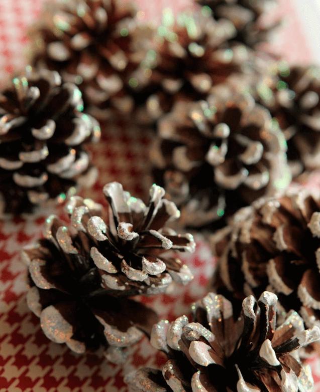 Венок из мишуры на Новый год своими руками venok iz mishury 4