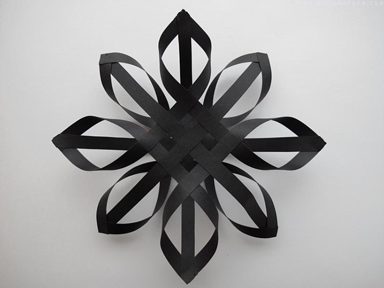 Объемные снежинки из бумаги своими руками 3d snowflakes 14