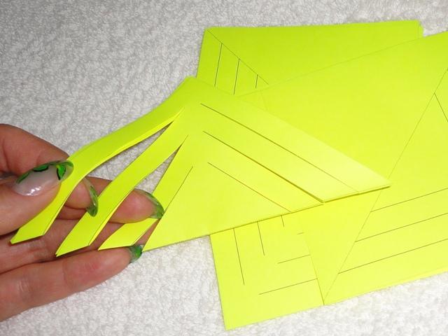 Объемные снежинки из бумаги своими руками 3d snowflakes 4