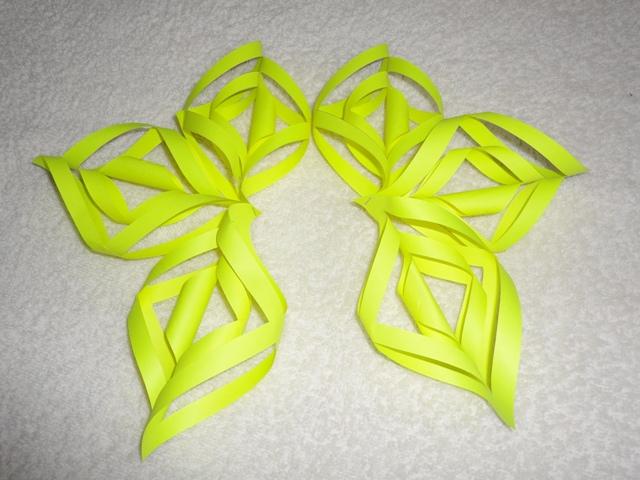 Объемные снежинки из бумаги своими руками 3d snowflakes 9