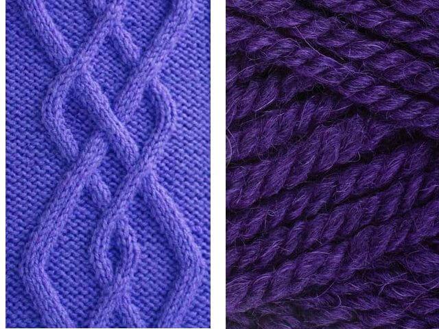 Арановые узоры: варианты вязания aran 7