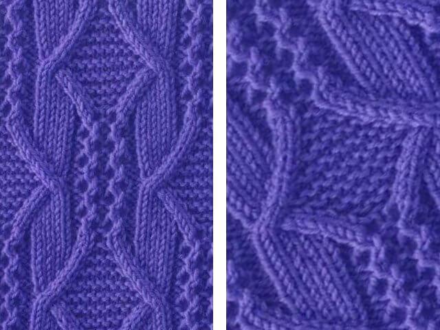 Арановые узоры: варианты вязания aran 9