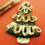 Елочка из соленого теста — оригинальная игрушка на Новый год
