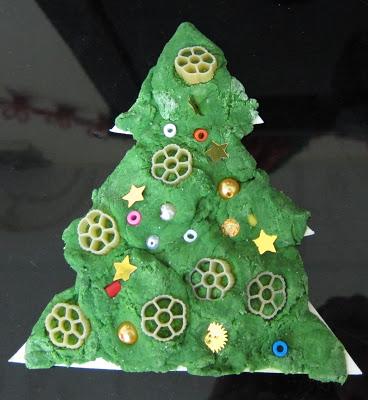 Елочка из соленого теста   оригинальная игрушка на Новый год elochka solenogo testa 18