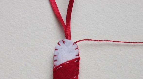 Как сделать новогодние игрушки из фетра: мастер класс igrushki iz fetra 21