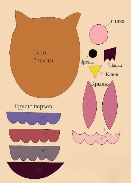 Как сделать новогодние игрушки из фетра: мастер класс igrushki iz fetra 33