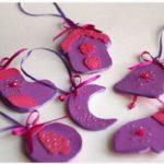 Игрушки из фоамирана: украшаем Елку своими руками