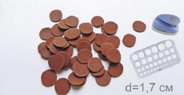 Игрушки из фоамирана: украшаем Елку своими руками igrushki iz foma 2