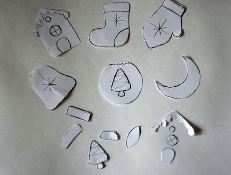 Игрушки из фоамирана: украшаем Елку своими руками igrushki iz foma 9 1