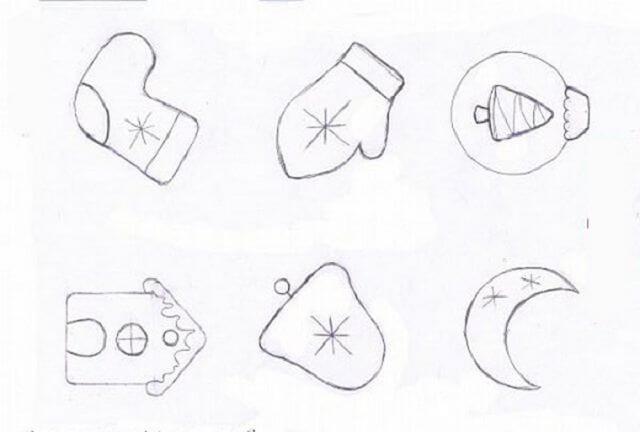Игрушки из фоамирана: украшаем Елку своими руками igrushki iz foma 9