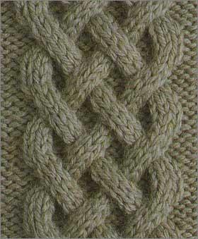 Как вязать кельтские узоры спицами: пошаговое описание keltskie 3
