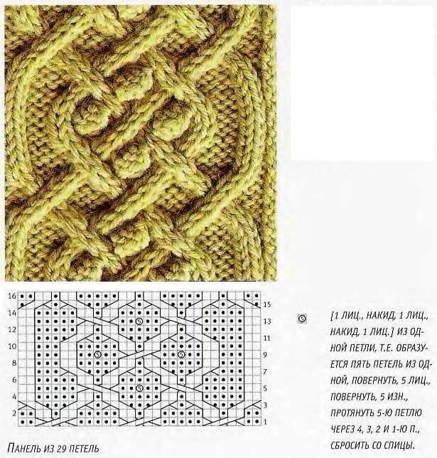 Как вязать кельтские узоры спицами: пошаговое описание keltskie 4