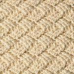 Узор плетенка крючком: варианты вязания