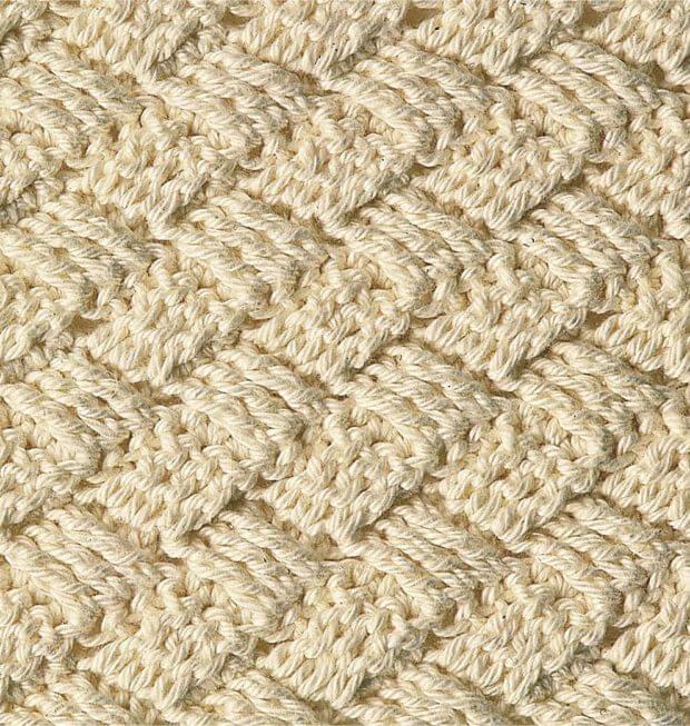 Узор плетенка крючком: варианты вязания pletennyj uzor 1