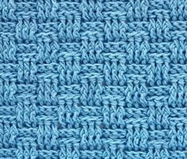 Узор плетенка крючком: варианты вязания pletennyj uzor 3