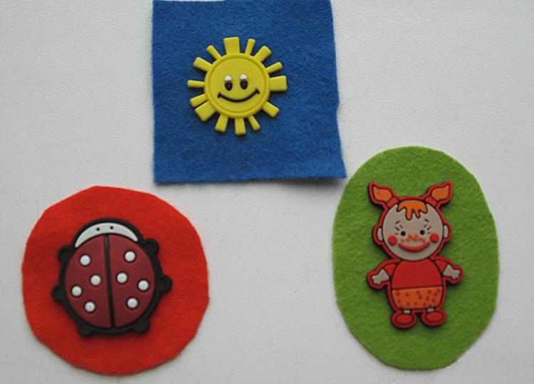 Елка как развивающая игрушка для малыша: шьём своими руками razvivaushaya elka 12