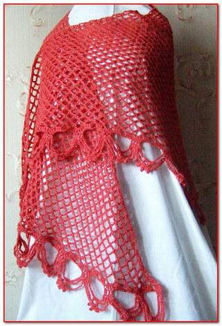Сетка спицами: отличный вариант для летней вязаной модели setka 3 1