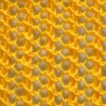 Сетка спицами: отличный вариант для летней вязаной модели