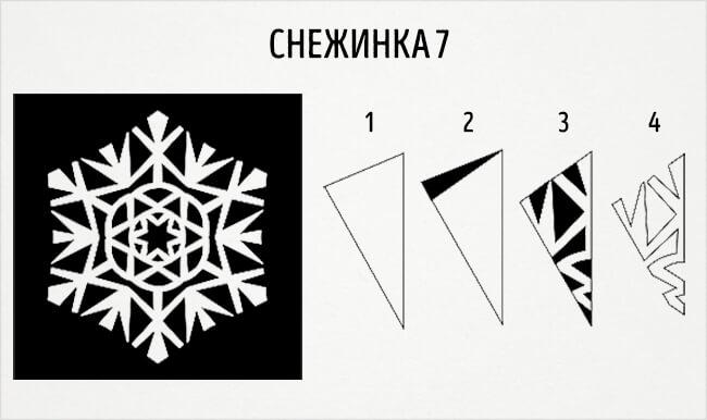 Красивые снежинки из бумаги: советы, схемы snowflakes 10