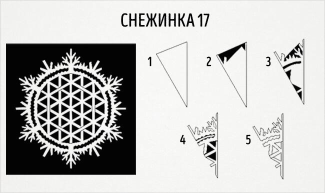 Красивые снежинки из бумаги: советы, схемы snowflakes 20