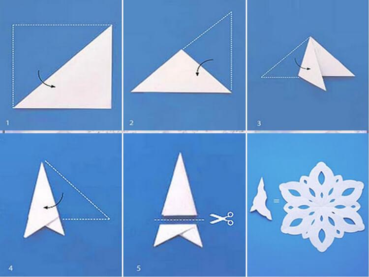 Красивые снежинки из бумаги: советы, схемы snowflakes 3