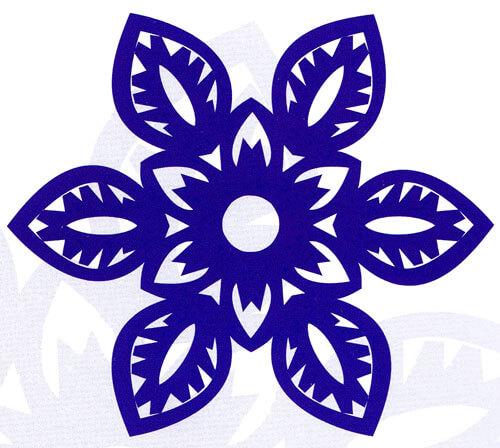 Красивые снежинки из бумаги: советы, схемы snowflakes 32