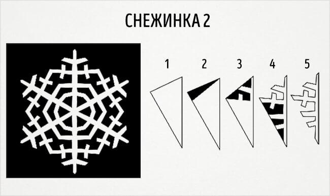 Красивые снежинки из бумаги: советы, схемы snowflakes 5