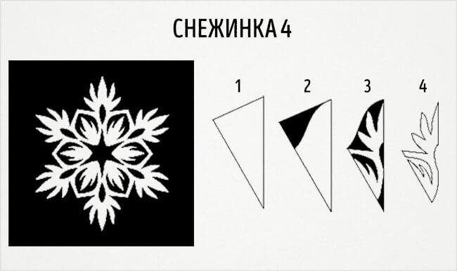 Красивые снежинки из бумаги: советы, схемы snowflakes 7