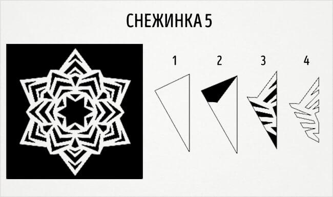 Красивые снежинки из бумаги: советы, схемы snowflakes 8