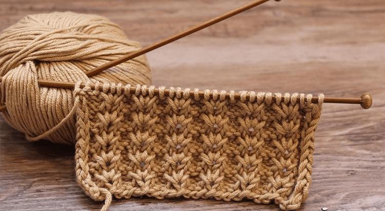 Варианты вязания узора Дорожки спицами uzor dorozhki spicami 12