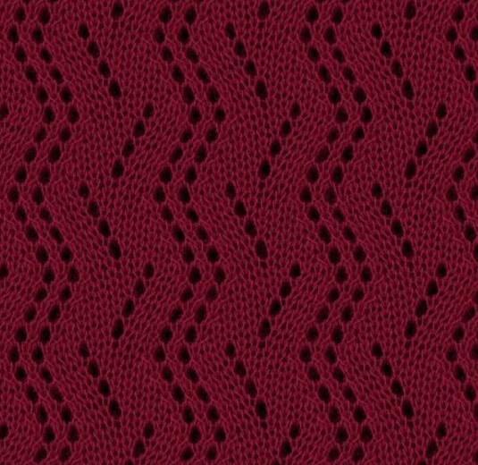 Варианты вязания узора Дорожки спицами uzor dorozhki spicami 4
