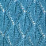 Узор Листья спицами: варианты вязания со схемами