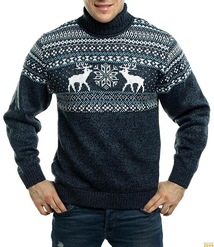 Узор Олени спица: идеальное решение для модного свитера uzor olen 11