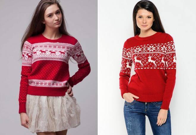 Узор Олени спица: идеальное решение для модного свитера uzor olen 14