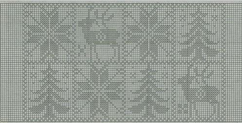 Узор Олени спица: идеальное решение для модного свитера uzor olen 5